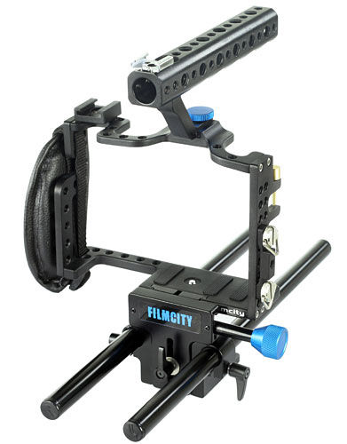Filmcity Cage with Rod Support for GH3 / GH4